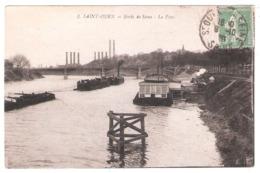 Péniches Sur Les Bords De Seine (93 - St Ouen) - Houseboats