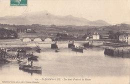 Saint Jean De Luz (64) - Les Deux Ponts Et La Rhune - Saint Jean De Luz
