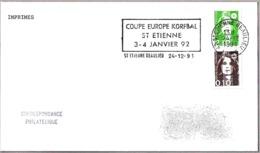 COPA DE EUROPA DE KORFBAL. St. Etienne Beaulieu 1991 - Sellos