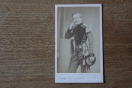 Cdv Militaire Second Empire Napoleon III   Officier Du Génie Garde Impériale  Gustave De La Taille  Par Prevot - Guerra, Militares