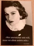 Coco Chanel Mutige Frauen Mode Und Parfüm Designerin - Mode