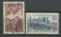 FRANCE: Obl., N° YT 489 Et 490, TB - Gebraucht