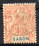 Col17  Colonie Gabon  N° 26 Oblitéré Cote  25,00€ - Gebruikt