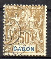 Col17  Colonie Gabon  N° 28 Oblitéré Cote  20,00€ - Gabon (1886-1936)