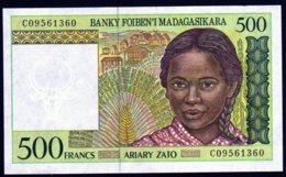 Madagascar 1998 500 Francs   UNC  Neuf  Parfait - Madagascar