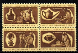 USA. N°955-8 De 1972. Artisanat. - Unabhängigkeit USA