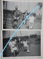 Photox2 WATERLOO Carrousel 1937 Plaine De Jeux ? - Lieux