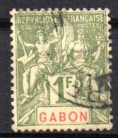 Col17  Colonie Gabon  N° 30 Oblitéré Cote  50,00€ - Gabon (1886-1936)