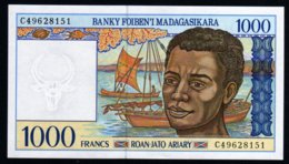 Madagascar 1998 1000 Francs   UNC  Neuf  Parfait - Madagascar
