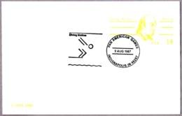 JUEGOS PAN AMERICANOS - SALTOS. Pan American Games - Diving. Indianapolis IN 1987 - Kunst- Und Turmspringen
