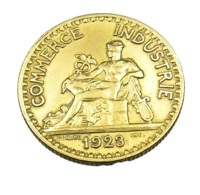 1 Franc - Chambre De Commerce - France -  Domard - 1923 - Cu.Alu - Sup - H. 1 Franc