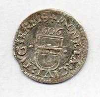 Suisse Canton ZUG, 3 Kreuzer, Silver, 1606, KM #17 - Svizzera