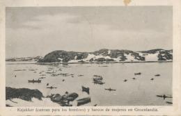 Kajakker Y Barcos De Mujeres En Groenlandia - Groenland