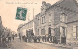 ESCARBOTIN - Rue Du Commerce  (Partie De La Poste) - Ecole Primaire Communale De Jeunes Filles - Francia