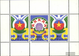 Suriname Block40 (complete Issue) Unmounted Mint / Never Hinged 1985 Revolution - Surinam