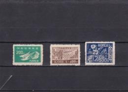 Corea Del Sur Nº 61 Al 63 - Corea Del Sur