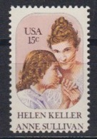 USA 1980 Helen Keller & Anne Sullivan 1v ** Mnh (45085) - Ongebruikt