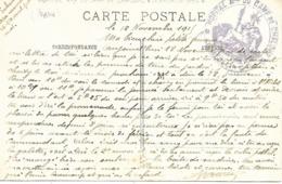 51- Cachet Hôpital Militaire Du Camp De Chalons Sur CP De Haudiomont En 1915 - Postmark Collection (Covers)