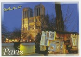 {80936} 75 Paris , La Cathédrale Notre Dame Vue Du Quai De Montebello - Notre Dame De Paris