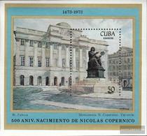 Cuba Block41 (complete Issue) Unmounted Mint / Never Hinged 1973 Nikolaus Copernicus - Unused Stamps