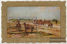 Cuba Block39 (complete Issue) Unmounted Mint / Never Hinged 1972 M. De Cervantes Saavedra - Unused Stamps