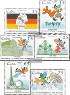 Cuba 4135-4140 (complete Issue) Unmounted Mint / Never Hinged 1998 World's Fair World Exhibition 2000 - Cuba