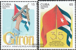 Cuba 3918-3919 (complete Issue) Unmounted Mint / Never Hinged 1996 Revolution - Cuba