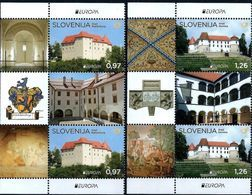 Slovenia - Europa Cept 2017 Year - 2 Sets With Vignettes MNH** - 2017