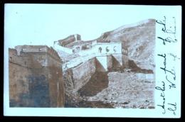 CINA - CHINE - INIZI 900 - FOTOCARTOLINA CON LA GRANDE MURAGLIA CINESE - BIG WALL OF CHINA - Cina