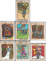 Cuba 1599-1605 (complete Issue) Unmounted Mint / Never Hinged 1970 Birthday Ho Chi Minh - Nuevos