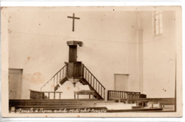07 LAPRAS ARDECHE LAMASTRE CARTE PHOTO TEMPLE RELIGION - France