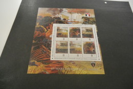 GR594 - Personalised Bloc  MNh Nevis  2010 - D-Day Normany - Sword Beach - Non-normalised Shipment - WO2