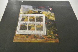 GR596 - Personalised Bloc  MNh Nevis  2010 - D-Day Normany - Utah Beach - Non-normalised Shipment - WO2