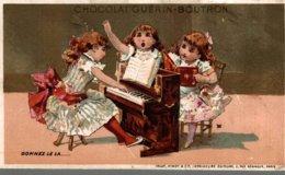 CHROMO CHOCOLAT GUERIN-BOUTRON  DONNEZ LE LA ... - Guérin-Boutron