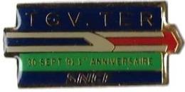 TGV AUTRES - T96 - TGV - TER  - 30 SEPT 91 - Verso : PREM'S - TGV