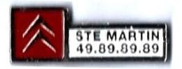 CITROEN - C54 - CITROEN - STE MARTIN - Verso : SM - Citroën