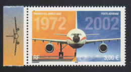 Poste Aérienne N° 65 A , Anniversaire Du 1er Vol De L'Airbus A 300 Provenant De La Feuille De 10 Timbres , Port Gratuit - 1960-.... Neufs