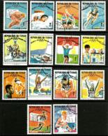 Tchad - Sport : Médailles D'or Des JO De 1968 à Mexico - Série - Oblitéré - Summer 1968: Mexico City
