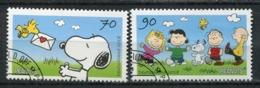 """Germany 2018 Mi .Nr 3369/70 """"Comics-Die Peanuts-Snoopy ."""" 2 Werte Used - [7] Federal Republic"""