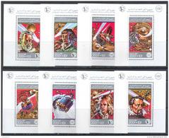 1256 ✅ Space Astronomy Gagarin Galilei Kepler Copernicus Newton 1988 Comores 8 S/s Deluxe Set MNH ** 45ME - Space