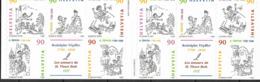 1999 Schweiz Mi. 1675-9 **MNH 200. Geburtstag Von Rodolphe Töpffer Booklet - Blocchi