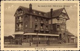 Cp Saint Idesbald Coxyde Bains Westflandern, Grand Hotel Des Dunes, Cafe, Inh. Vve. E. Bertrand - Belgien