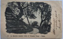 V 10397 - La Quercia Secolare Detta Di Torquato Tasso - Roma - Parks & Gardens