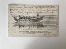 Coq Sur Mer De Haan  Secours Maritimes  Barque De Sauvetage   Le 24 Juillet 1903 Sauvetage D'un Ballon - De Haan