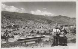 Bolivie - La Paz - Costumes Traditionnels - Montana Nevado Illimani - Gare De Chemins De Fer - Bolivien