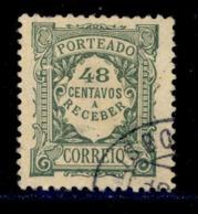 ! ! Portugal - 1922 Postage Due 48 C - Af. P 39 - Used - Port Dû (Taxe)