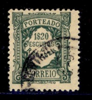 ! ! Portugal - 1922 Postage Due 1$20 - Af. P 44 - Used - Port Dû (Taxe)