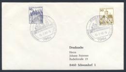 Deutschland Germany 1980 Brief Cover - 100 Jahre Bahnknotenpunkt Kisslegg, Luftkurort / Railway Junction - Treinen