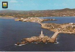 (AKQ43)  IBIZA. ISLA PLANA Y VALERSINO. BOTAFOCH. FARO. LIGHTHOUSE. PHARE - Ibiza