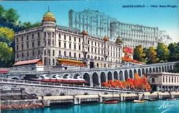MONACO - MONTE CARLO  - Hotel Beau Rivage - Monte-Carlo